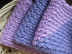 Lavender/Orchid Mix Trio Dishrags