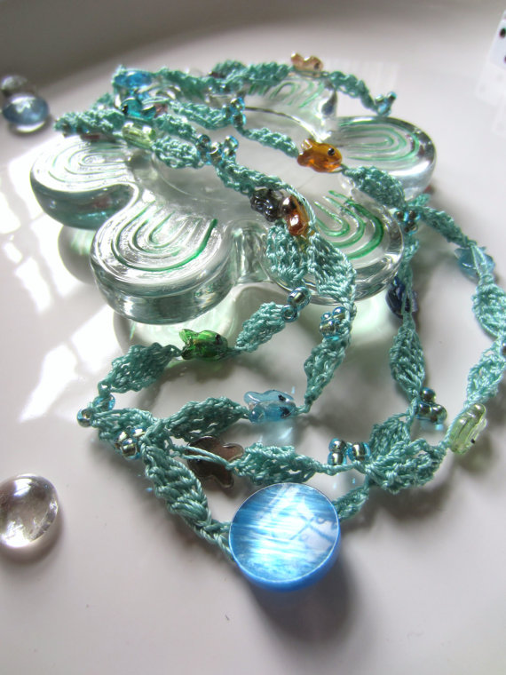 Necklace, or Wrist Wrap!