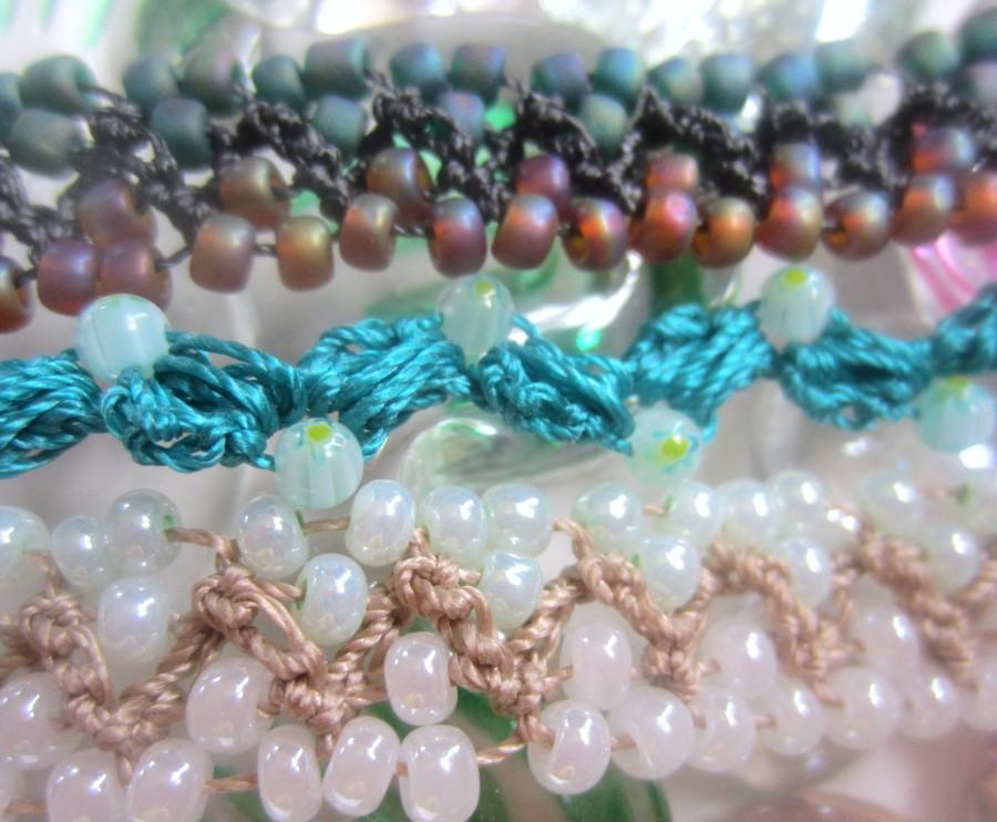 Crocheting Beads : crochet beads bracelets 009 crochet beads bracelets 020