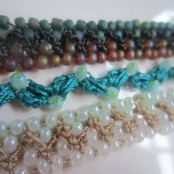 crochet, beads, bracelets 011