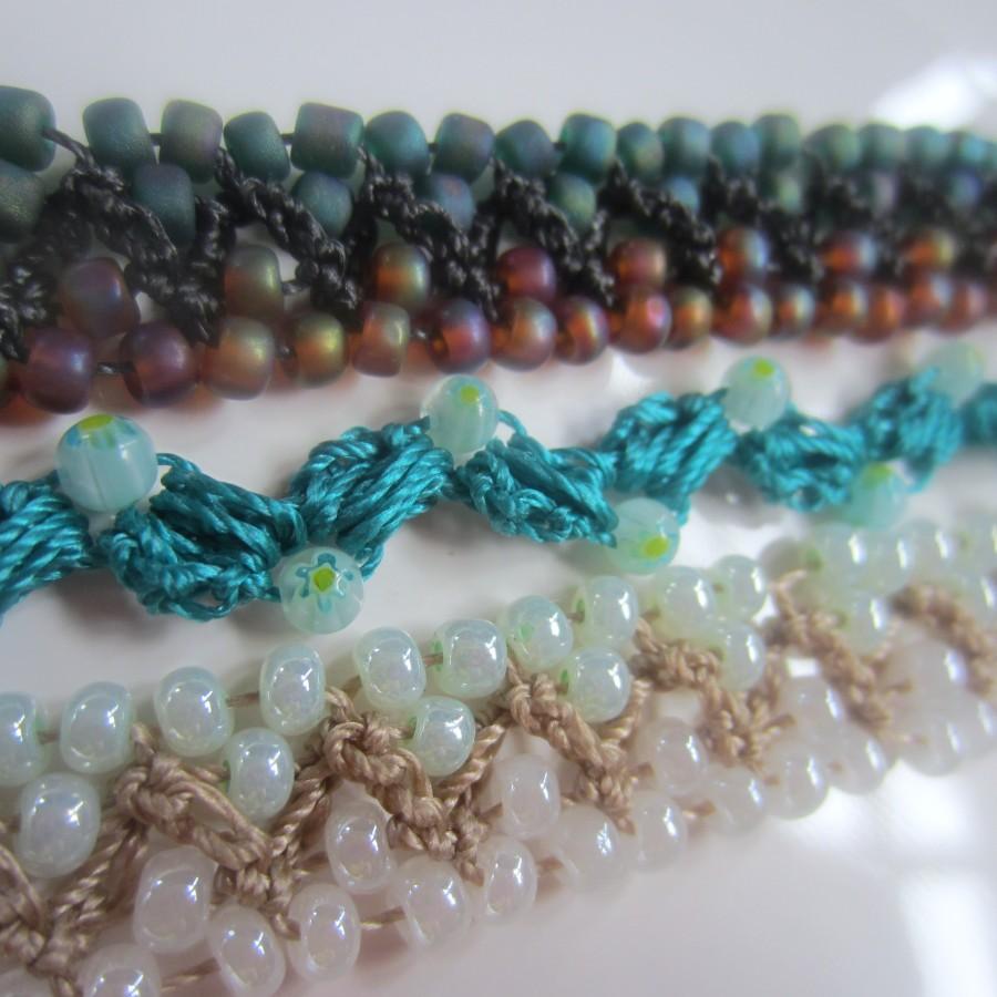 crochet beads bracelets 010 crochet beads bracelets 012