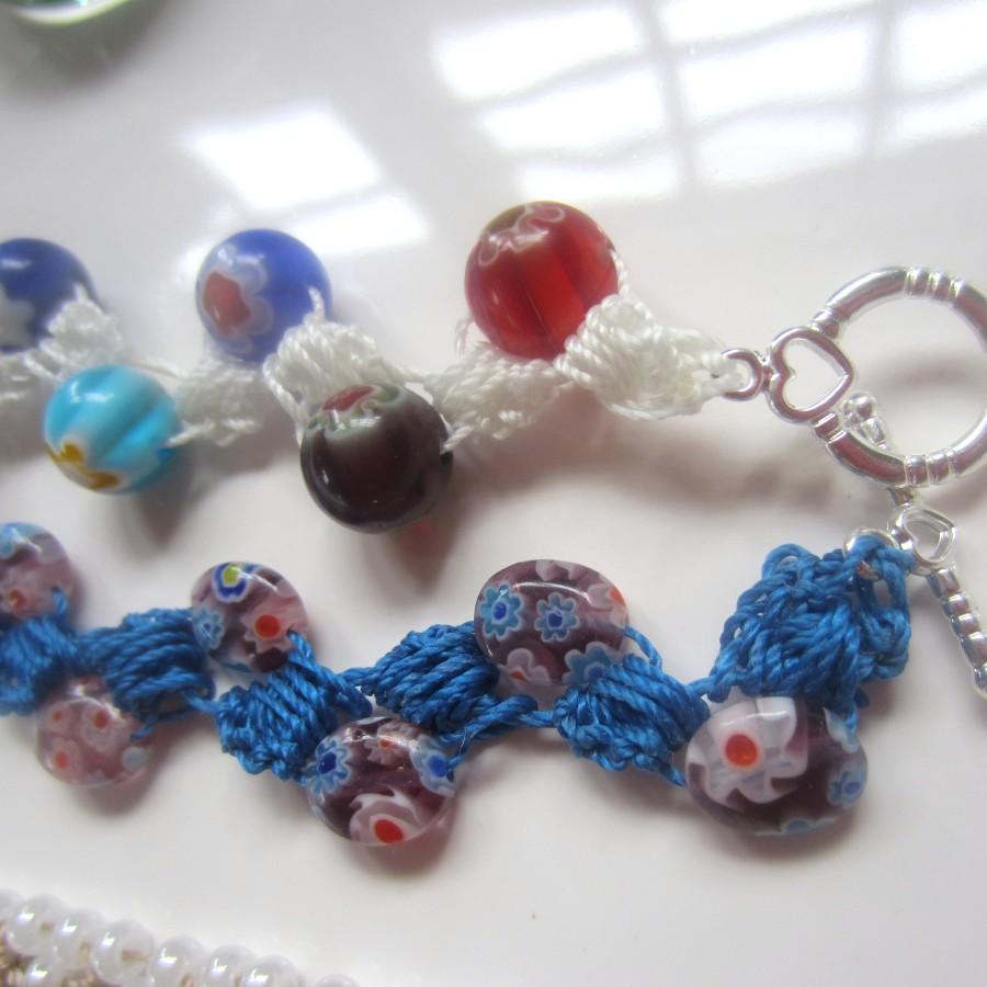 Crocheting Beads : crochet beads bracelets 015 crochet beads bracelets 017