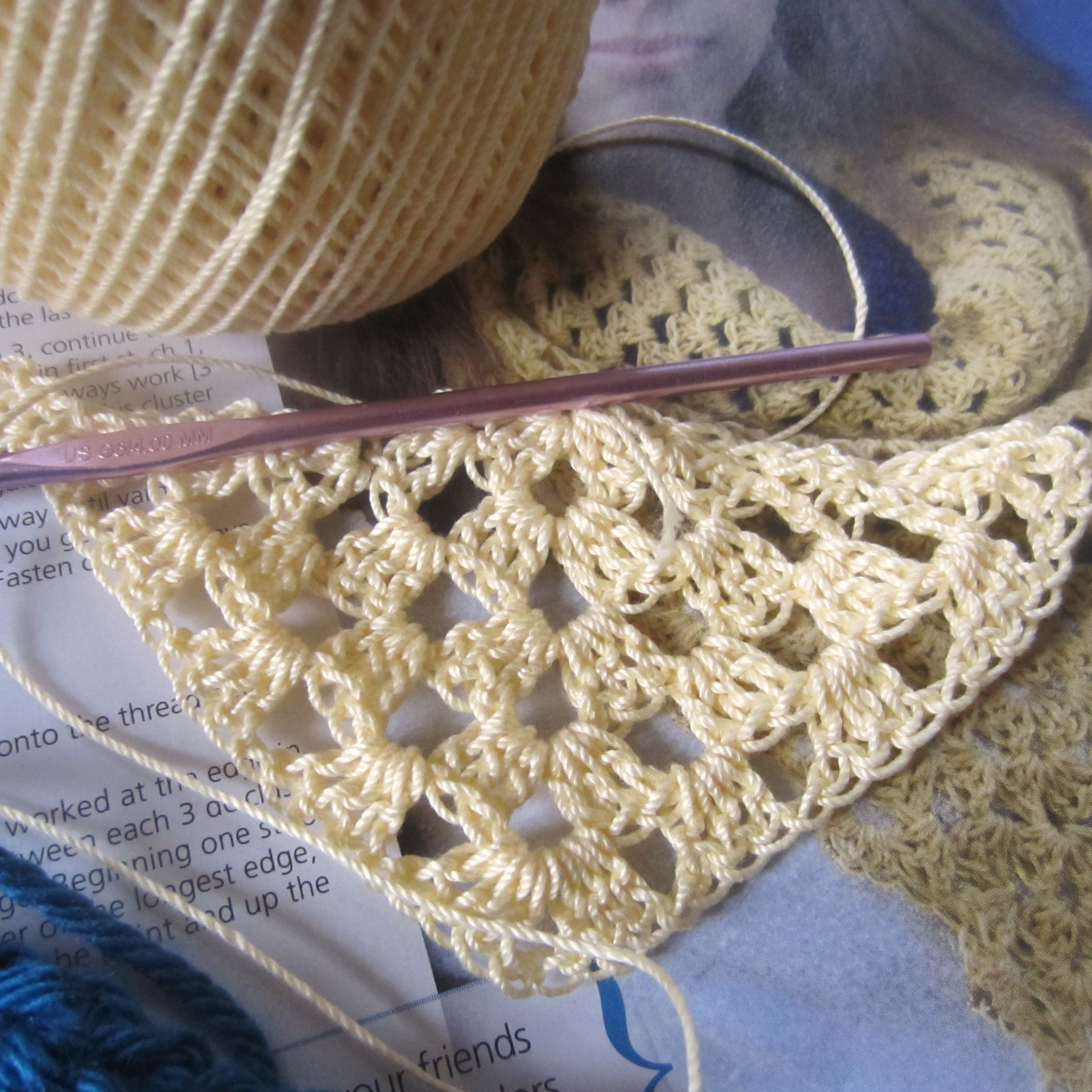Crocheting With Thread : ... Same Project! G-Ma Ellens Hands - Adventures in Crochet and Knit