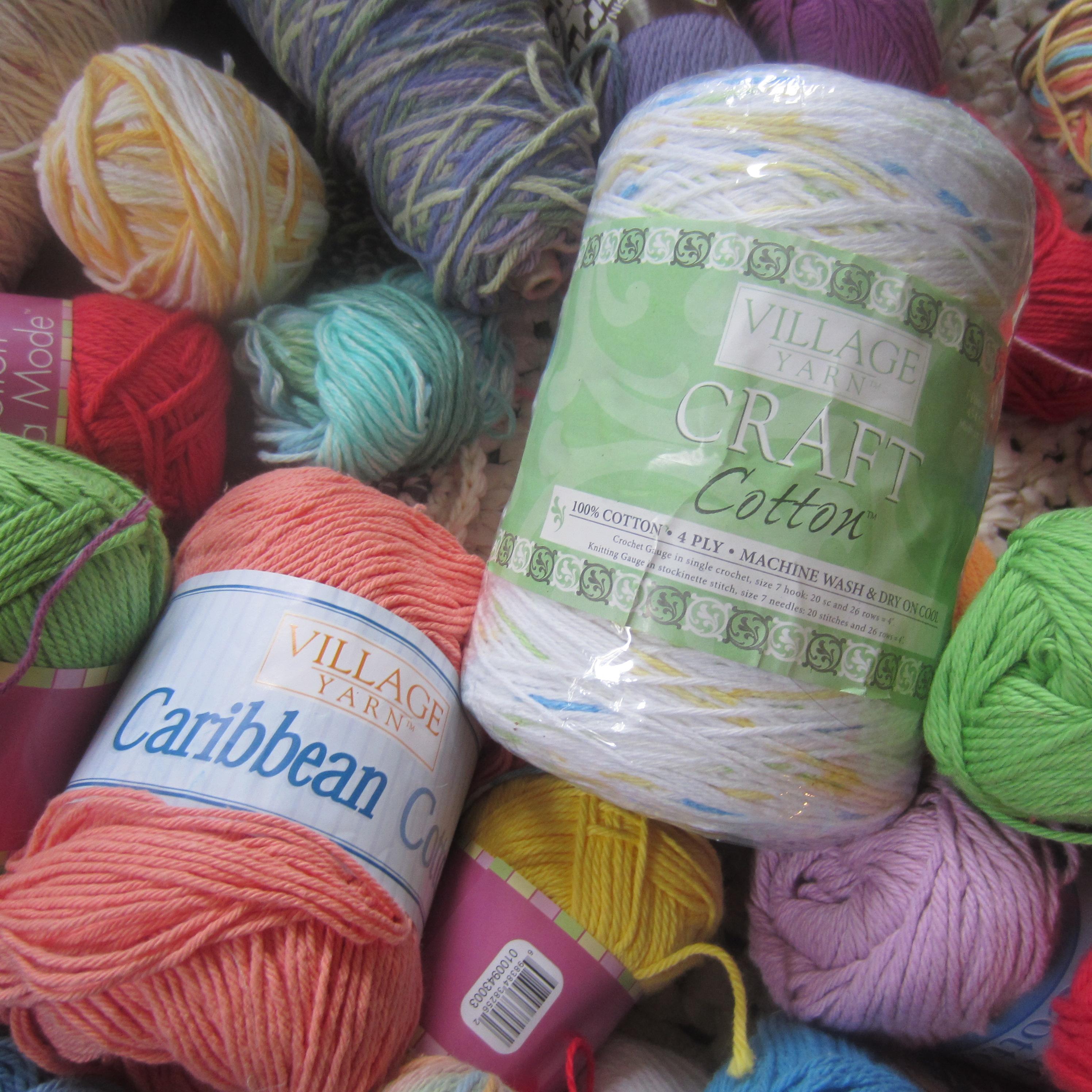 Crochet Patterns Made With Cotton Yarn : cotton yarn 006