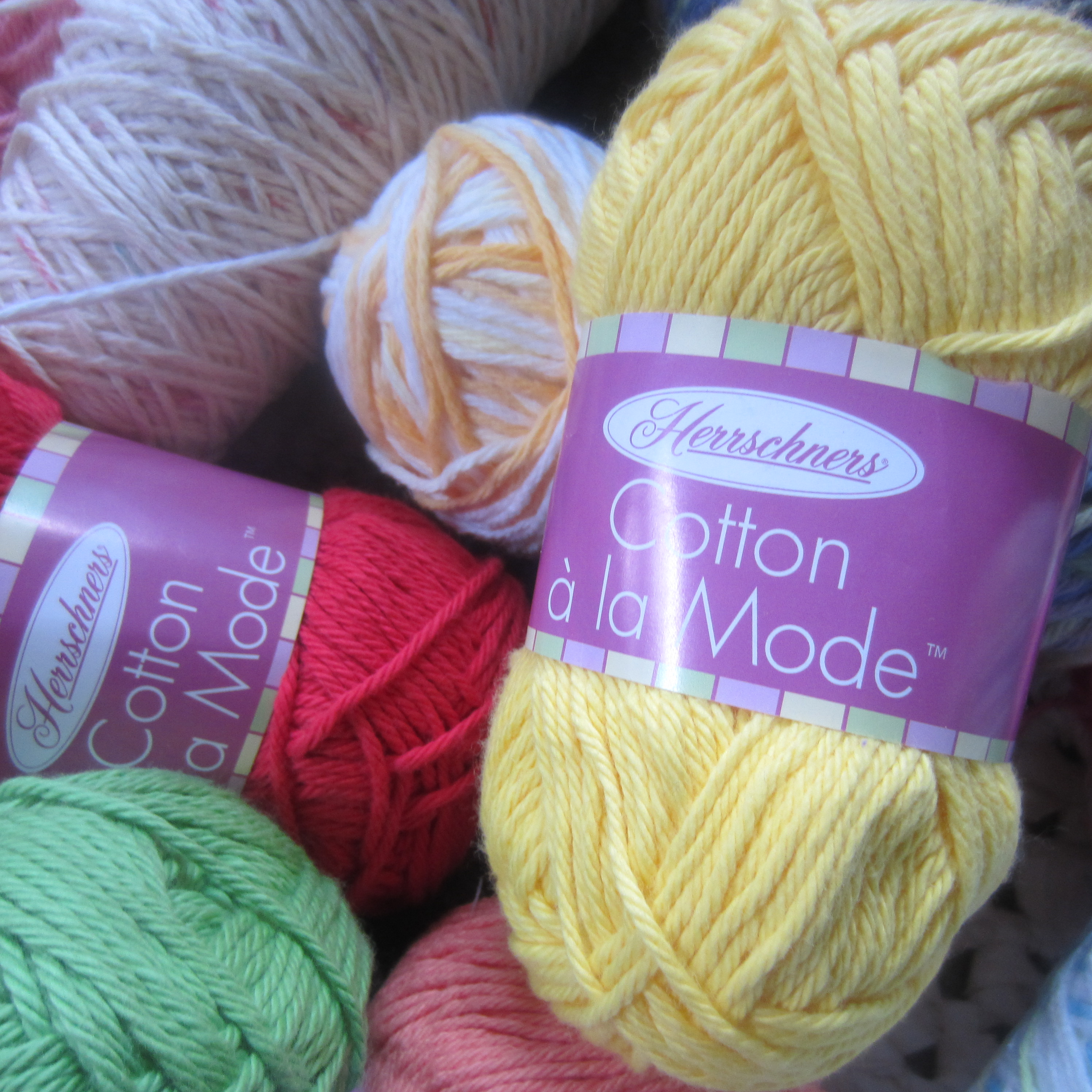 I Love Cotton Yarn! G-Ma Ellens Hands   Adventures in ...