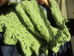 Beautiful Lime Green Cowl