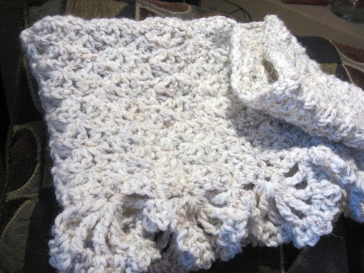 Open Shell Crochet Cowl PDF Pattern on Handmade Artists' Shop