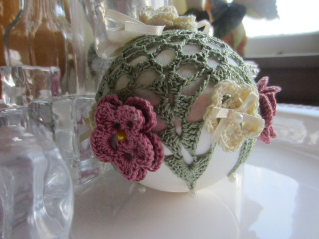 crochet, Christmas, ornaments, thread 006