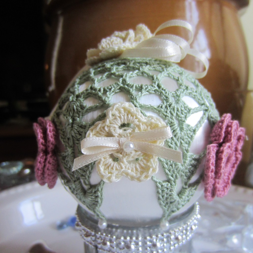 crochet, Christmas, ornaments, thread 015