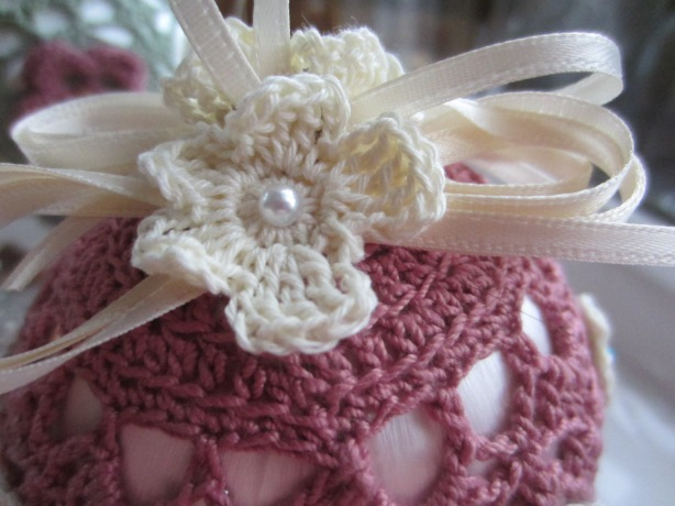 crochet, Christmas, ornaments, thread 001