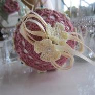 crochet, Christmas, ornaments, thread 004