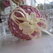crochet, Christmas, ornaments, thread 004