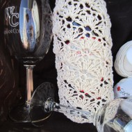 crochet, wine tote, etsy, blog, cotton yarn 007
