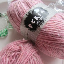This is a really different kind of yarn. Seems to be what I know to be called a 'roving' yarn. Fairly chunky.