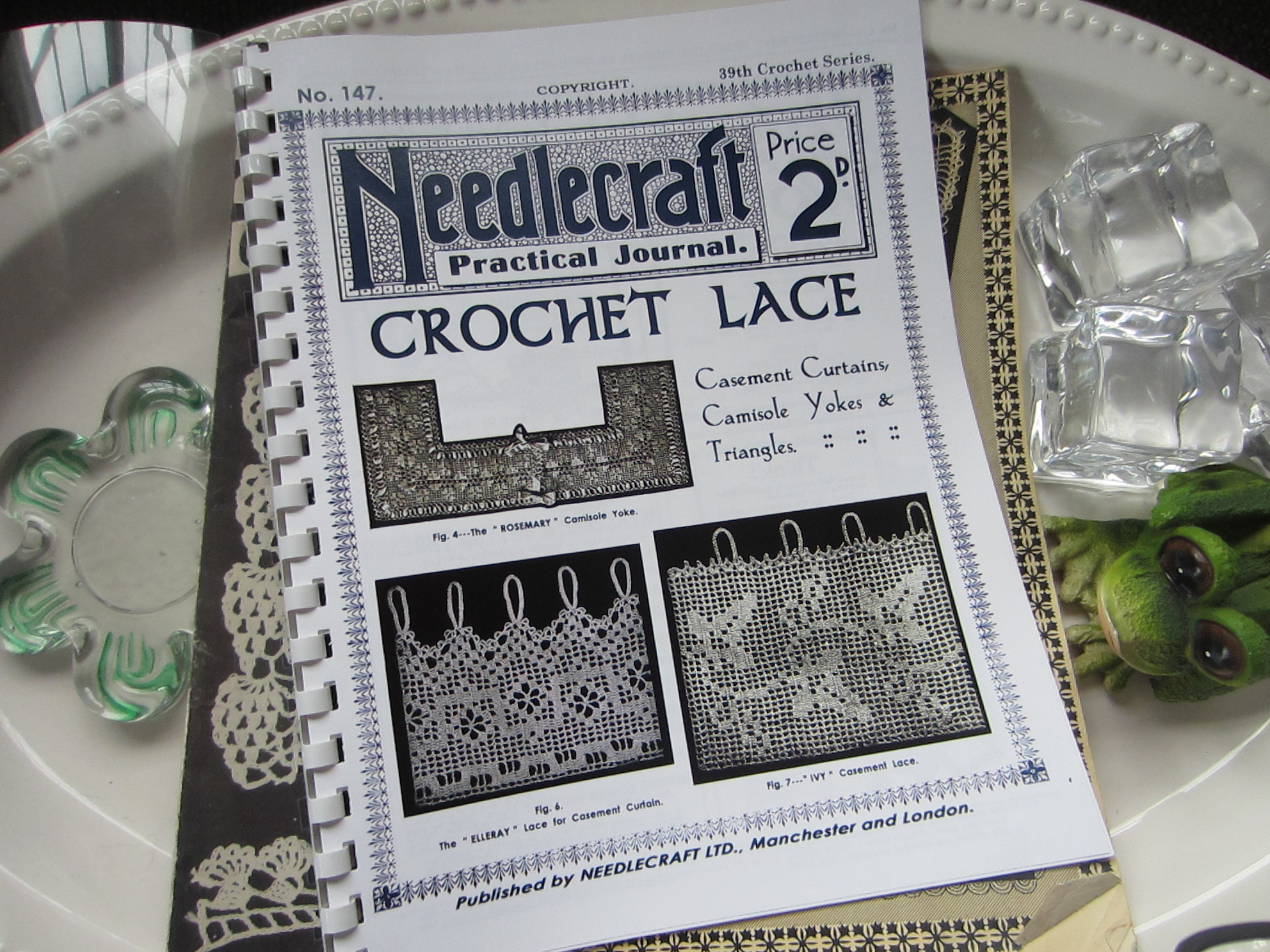 Sharing Some Vintage Crochet Books And A Bird S Eye View