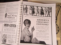 Check out the ads in this vintage crochet mag.