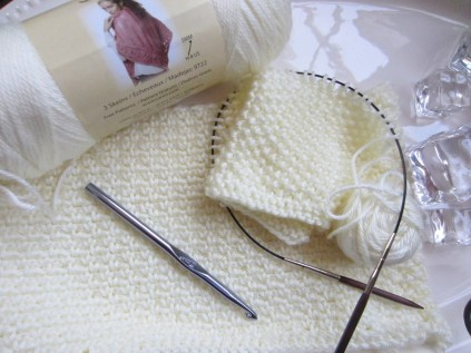 I have a huge stash of Caron's Simply Soft yarn . . .