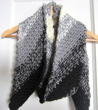 CROCHET DIAGONAL SCARF - CROCHET STITCH