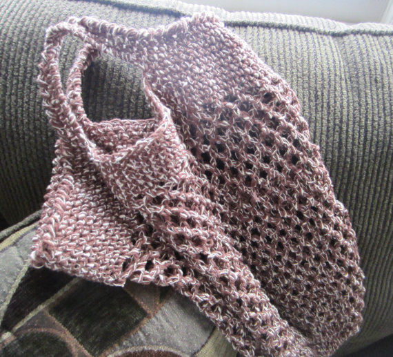 Knitting Pattern Mesh Bag : Handmade Crochet HeavyDuty Mesh Market Bag by GMaEllenCrochetGifts G-Ma Ell...