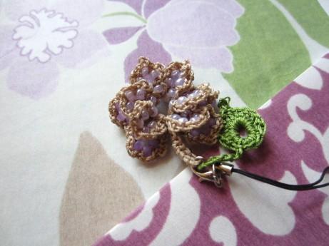 lavender, beaded crochet, etsy 001