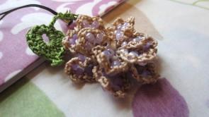 lavender, beaded crochet, etsy 004