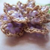 lavender, beaded crochet, etsy 007