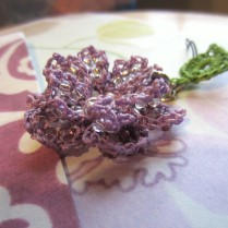lavender, beaded crochet, etsy 016