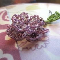 lavender, beaded crochet, etsy 016