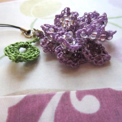 lavender, beaded crochet, etsy 021