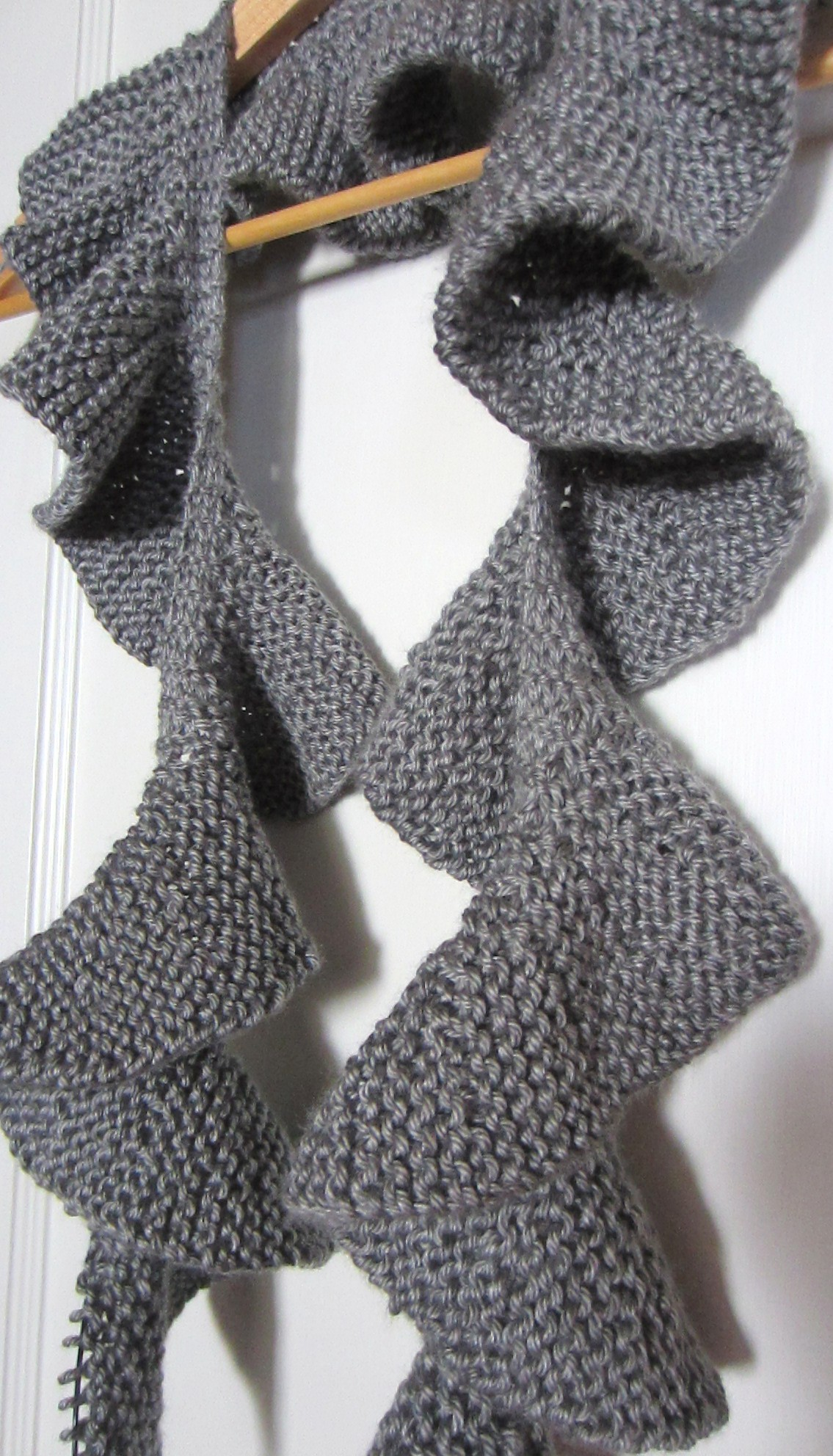 Ruffle Scarf Crochet Pattern Simple Design Inspiration