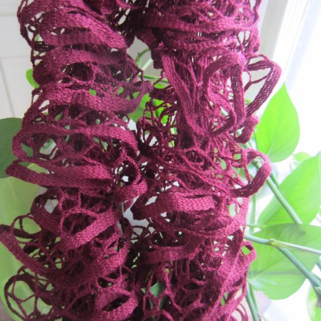 Unknown brand of ruffle yarn