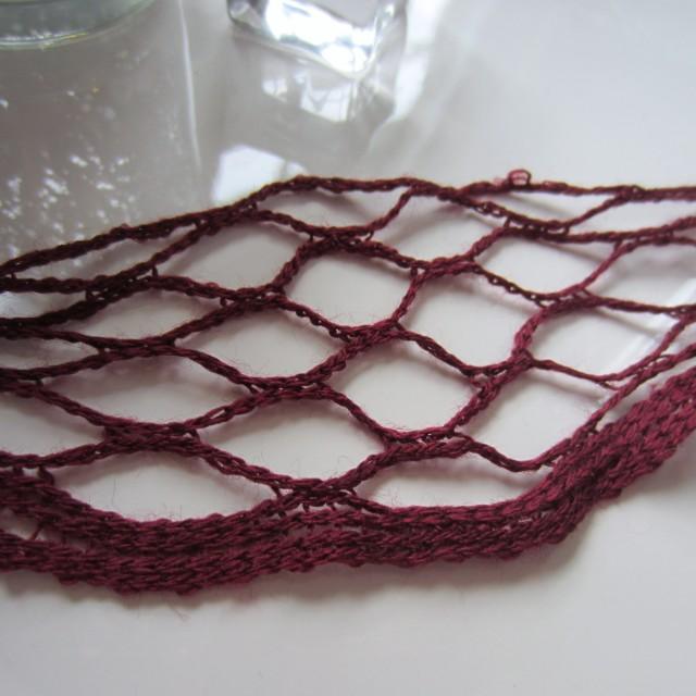 ruffle yarn, destash afghan, knit, crochet, 012