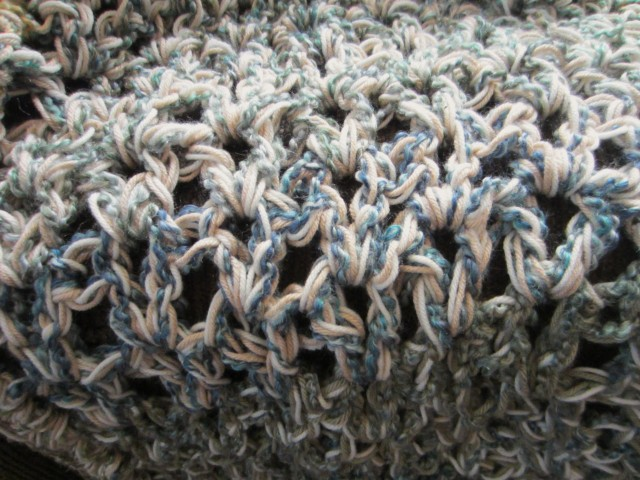 three-strand afghan, homespun, one pound yarn 004