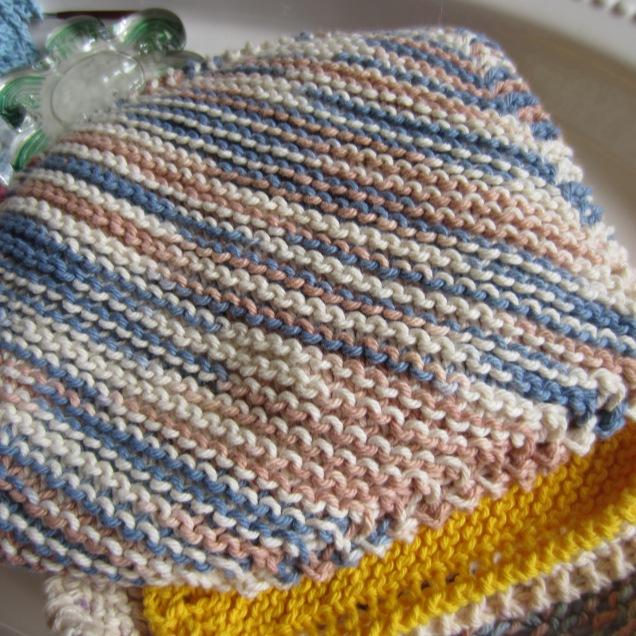 yarn, knitting, dishcloths 015