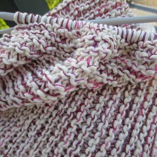 So . . . I am enjoying the mix of thread and yarn.