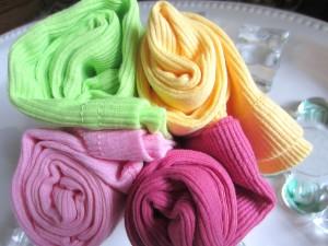 Cotton Tank Tops in pretty flourescent colors!