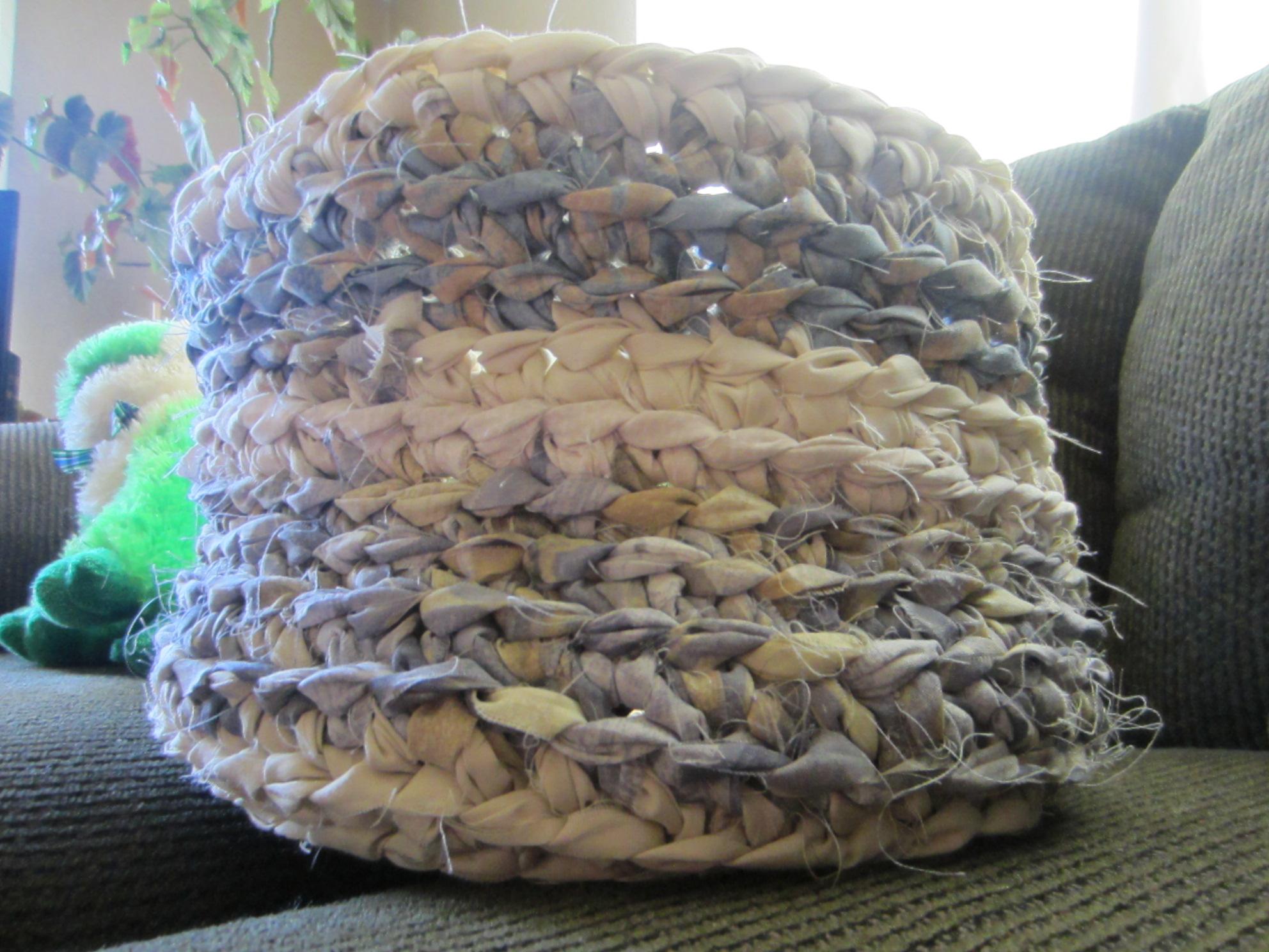 rag basket, crochet 009 G-Ma Ellens Hands ? Adventures ...