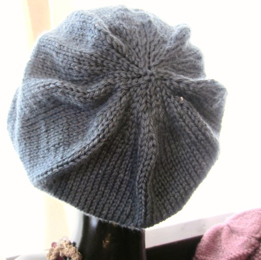 Finished project, Super Simple Slouchy Beanie