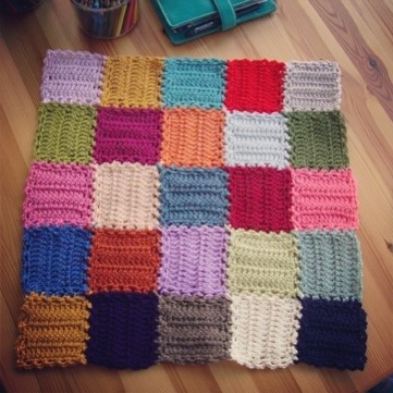 Crochet Mood Blanket