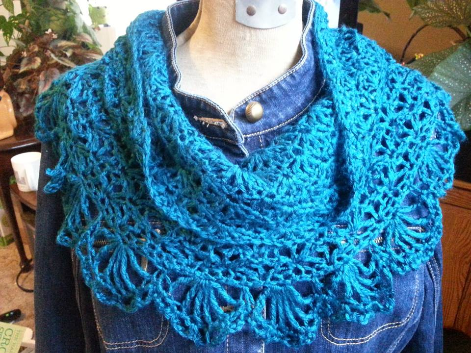 Crochet Patterns Cowl : The color is called Pagoda, from the Simply Soft line. The photo doesn ...